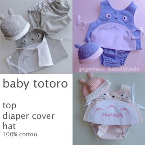 Totoro baby outfit.